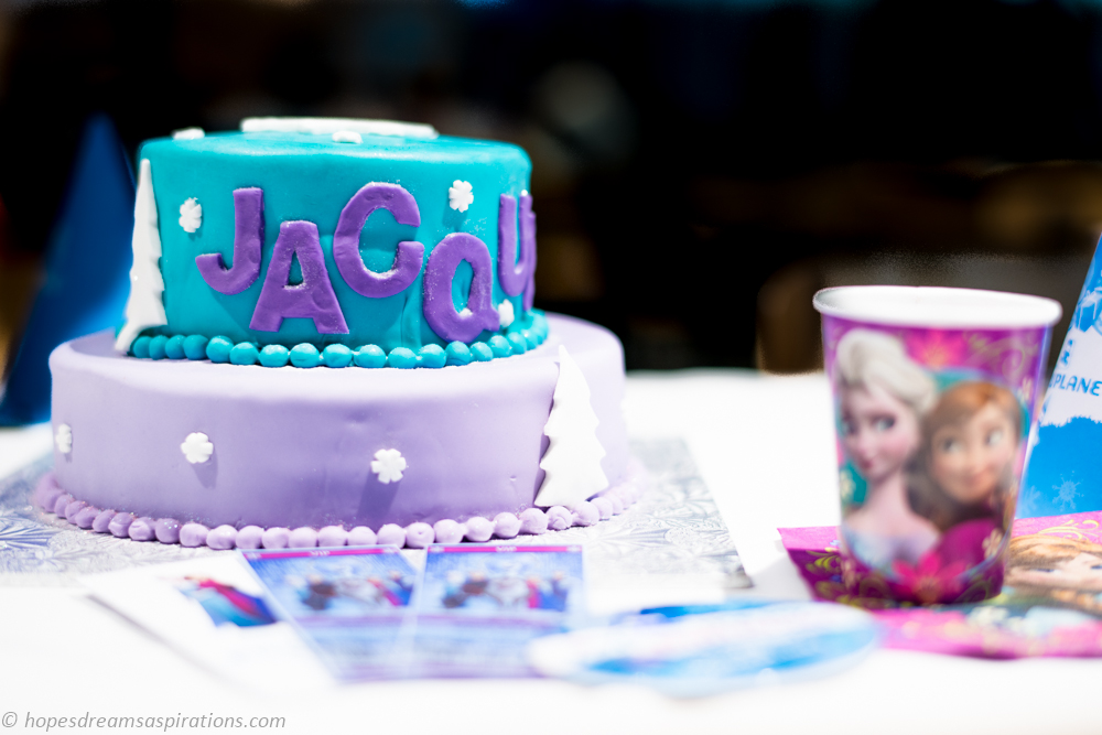 Stupendous Disney Frozen Themed Birthday Cake And Party Ideas Hopes Dreams Personalised Birthday Cards Paralily Jamesorg